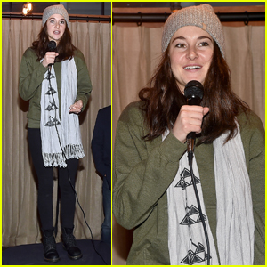 Shailene Woodley Leads Dakota Access Pipeline Protest at Sundance