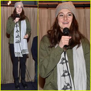 Shailene Woodley Leads Dakota Access Pipeline Protest at Sundance
