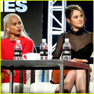'Divergent' Stars Shailene Woodley & Zoe Kravitz Reunite to Promote Their New Project!