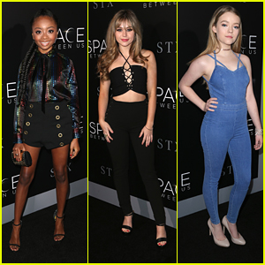 Style Stars Skai Jackson & Brec Bassinger Slay at 'Space Between Us' Premiere