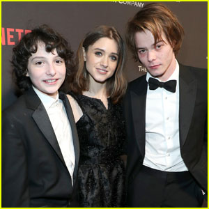 'Stranger Things' Cast Party With Netflix After Golden Globes 2017