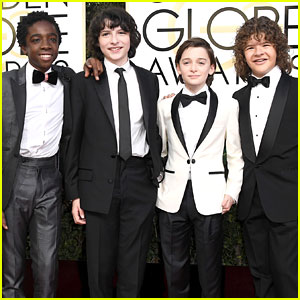 'Stranger Things' Boys Suit Up for Golden Globes 2017!