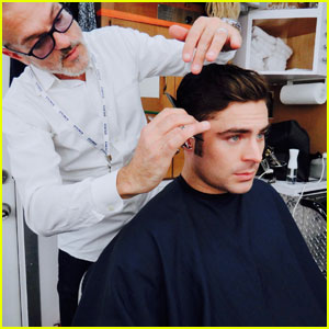 Zac Efron Gets Major Haircut To Start Shooting 'The Greatest Showman'