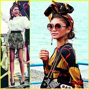 Zendaya Totally Slays in Dolce & Gabbana's Spring/Summer 2017 Campaign