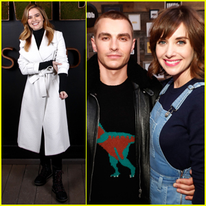 Zoey Deutch, Dave Franco & Alison Brie Step Out at Sundance 2017