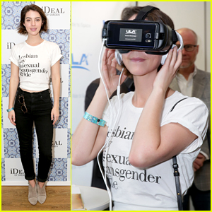 'Reign's Adelaide Kane Wears The Most Powerful Shirt After Trans Bathroom Rights are Revoked
