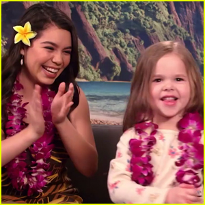 Auli'i Cravalho & 4-Year-Old Singer Claire Ryann Perform 'How Far I'll Go' Duet (Video)