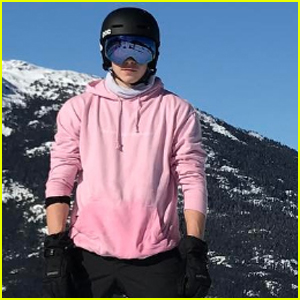 Brooklyn Beckham Broke His Collarbone Snowboarding During Family Vacation!