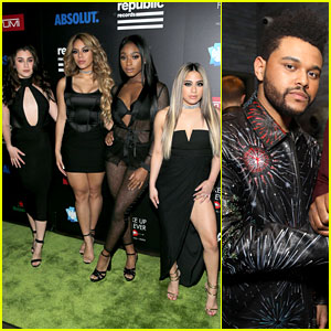 Fifth Harmony Works the Carpet at Grammys 2017 After Party!