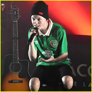 Jacob Sartorius Sells Out His Concert in Dublin!