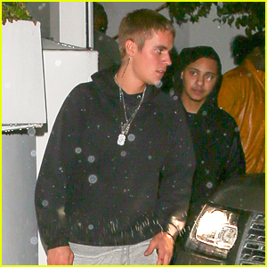 Justin Bieber Grabs Dinner With Pals Ahead of Grammys