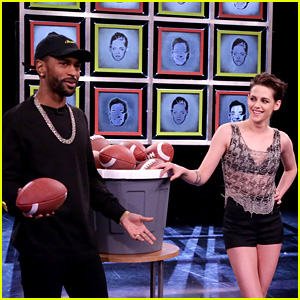 Kristen Stewart Plays Facebreakers Game with Big Sean on 'Fallon' - Watch Now!