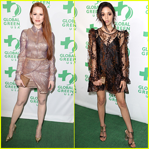 Riverdale's Madelaine Petsch Shimmers at Global Green's Pre-Oscar Party