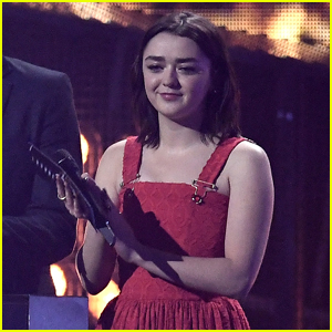Maisie Williams Was So Into Ed Sheeran at the Brit Awards 2017!