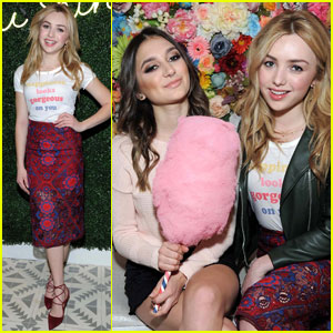 Peyton List Doesn't Care About How Guys Want Her to Dress