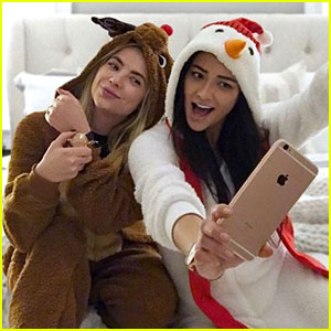 Proof Lucy Hale, Shay Mitchell, Ashley Benson & the 'PLL' Cast are Really, Truly, Friends