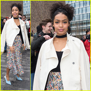 Yara Shahidi Jokes That Her Fashion Style Comes With A Caution Sign