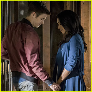 Grant Gustin & Candice Patton Describe Iris West & Barry Allen's Perfect Days