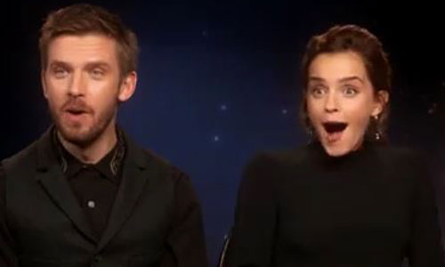 This Mini Belle & Mini Beast Interviewing Emma Watson Will Make Your Heart Melt
