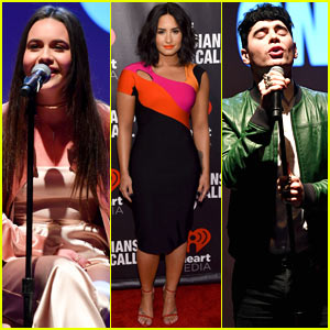 Demi Lovato, Bea Miller, & Leon Else Perform During 'Musicians on Call' Event!