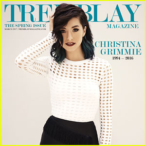 Christina Grimmie Gets The Ultimate Tribute In Tremblay Magazine