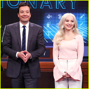 Dove Cameron Plays Pictionary With Jimmy Fallon! (Video)