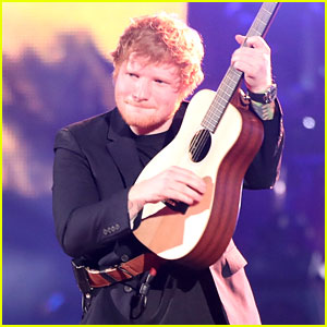 Ed Sheeran Performs 'Shape of You' & 'Castle on the Hill' at iHeartRadio Music Awards 2017 (Video)