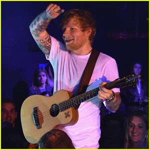 JJJ Attends Ed Sheeran's SiriusXM Secret Show in NYC - All the Details!