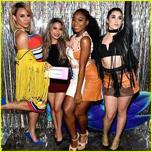 Dinah Jane Praises Normani Kordei's First DWTS Performance All The Way From Japan!
