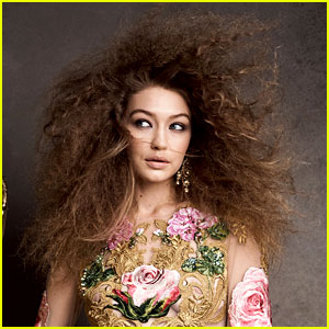 Gigi Hadid Is Giving Us Hair Goals in Her New 'Vogue' Spread!