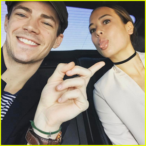 Grant gustin photos news and videos just jared jr page 9 grant gustin shares adorable new pics with girlfriend la thoma m4hsunfo