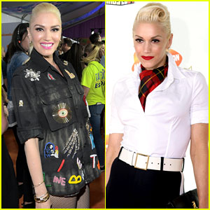 'The Voice' Coach Gwen Stefani: Then and Now at the Kids' Choice Awards!
