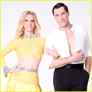 Heather Morris Jives With Alan Bersten For DWTS Season 24 Week 2