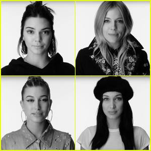Kendall Jenner, Bella Hadid & Hailey Baldwin Speak Up on International Women's Day