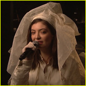 Lorde Wears A Veil For 'Saturday Night Live' Performance - Watch Now!
