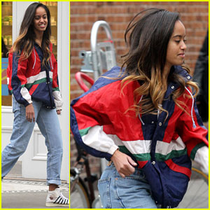Malia Obama Enjoys Weekend off From Internship