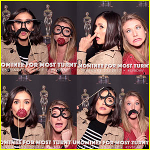Nina Dobrev Says She Would Totally Win the Award for 'Most Turnt Up'