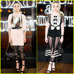 'Girl Meets World' Stars Rowan Blanchard & Sabrina Carpenter Are Twinning at Fashion Event