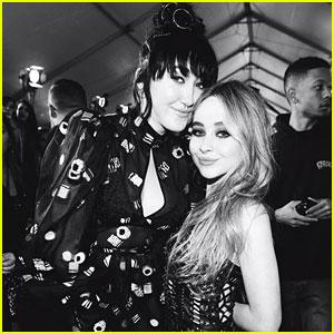 Sabrina Carpenter & Lauren Jauregui Praise Noah Cyrus