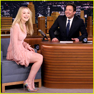 Dakota Fanning Almost Ruined Her 23rd Birthday When She Left Her ID at Home! (Video)