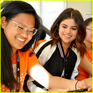 Selena Gomez Celebrates World Kindness Day By Mentoring Teen Girls!