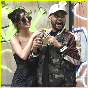 Selena Gomez & The Weeknd Look Cute Out in Buenos Aires!