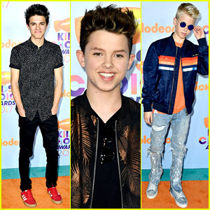 Social Stars Jacob Sartorius, Brent Rivera, & More Sizzle at KCAs 2017