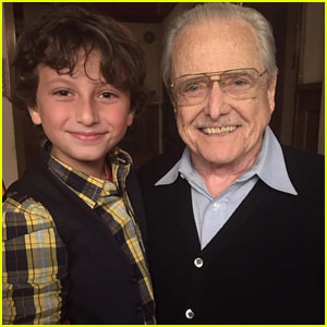 'Girl Meets World' Star August Maturo Wishes Real-Life Mr. Feeny a Happy Birthday!