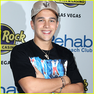 Austin Mahone Heads To Vegas For His 21st Birthday