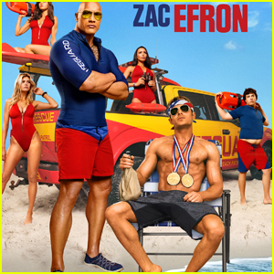 Zac Efron Shows Off His Abs in Two New 'Baywatch' Posters!