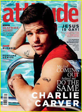 Charlie Carver Reveals His Father is Also Gay