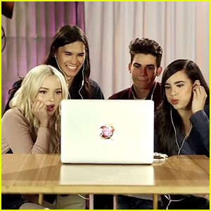 'Descendants 2' Cast Watches Their Film's Preview for the First time: Video Inside