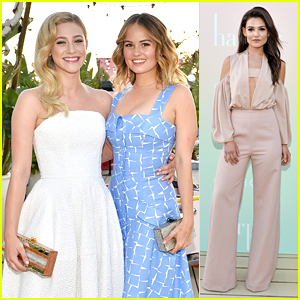 BFFs Debby Ryan & Lili Reinhart Were Stuck At The Hip at the 'harper x Harper's Bazaar' Event!