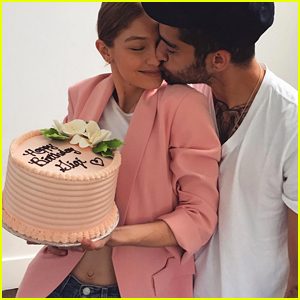 Gigi Hadid Celebrates Her 22nd Birthday with Zayn Malik!